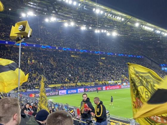 Champions League Spiel gegen PSG